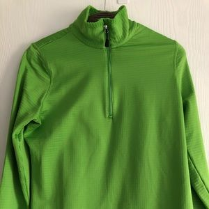 Izod Half Zip Perform X Shirt Size M